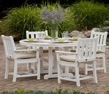 POLYWOOD� Traditional Garden 4 Seat Dining Set