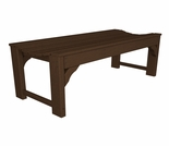 "POLYWOOD� Traditional Garden 48"" Backless Bench"