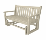 "POLYWOOD� Traditional Garden 48"" Glider"