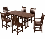 POLYWOOD� Traditional Garden 6 Seat Dining Set