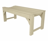 "POLYWOOD� Traditional Garden 60"" Backless Bench"