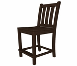 POLYWOOD� Traditional Garden Counter Side Chair