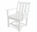 POLYWOOD� Traditional Garden Dining Arm Chair