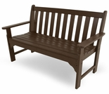 "POLYWOOD� Vineyard 48"" Bench"