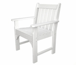 POLYWOOD� Vineyard Arm Chair