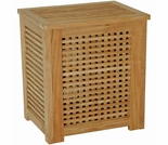 "Regal Teak 15"" Hamper"