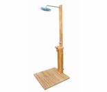 "Regal Teak 30"" Outdoor Shower"