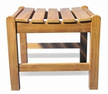 "Regal Teak 20"" Shower Stool"