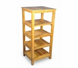 "Regal Teak 18"" Square Shelf"