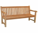 Teak 4' or 5' English Garden Bench - 4' - Currently Out of Stock