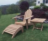 Teak Adirondack Set - Currently Out of Stock
