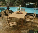 Teak Arlington Dining Set