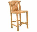Teak Charles Bar Chair