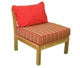 Teak Glenora Modular Side Chair