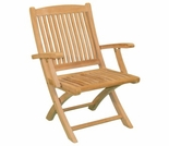 Teak Harbor Folding Arm Chair