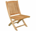 Teak Harbor Folding Side Chair