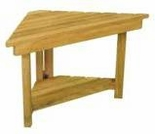 "Teak Jewels of Java 15"" Shower Stool"