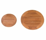 "Teak 16"" or 24"" Lazy Susan"