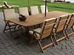 Teak Patio Dining Sets