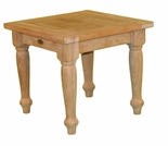 "Teak Taft 21"" Square End Table - Out of Stock til Dec"