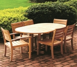 Three Birds Camden 7-Piece Teak Dining Set