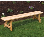 Traditional Cedar Bench - 2', 3', 4', 5', 6' & 8'