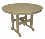 TREX Monterey Bay Round 36 Inch Dining Table
