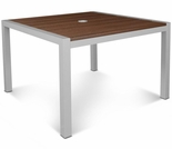 TREX Parsons 39 Inch Square Harvest Dining Table