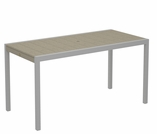 TREX Surf City 36 in x 73 in Dining Table