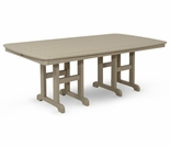TREX Yacht Club 37 in x 72 in Dining Table