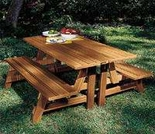 Villa Picnic Table - 2 Piece