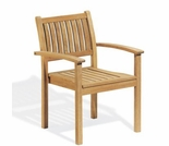 """Oxford Garden Warwick Shorea Stacking Armchairs (set of 2 or 4) - """"Spring Event"""" Reduced Pricing"""