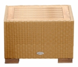 Wave Wicker Side Table - 3 Color Options