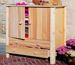 White Cedar Armoire - Additional Cyber Week Discount!