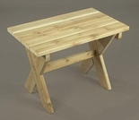 White Cedar Rectangular Table