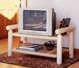 White Cedar TV Stand - Additional Cyber Week Discount!