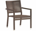 Whitecraft by Woodard All-Weather Miami Wicker Miami Dining Arm Chair