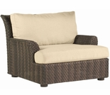 Whitecraft by Woodard Aruba Wicker Lounge Chair