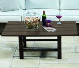 Whitecraft by Woodard Augusta Woodland Square Coffee Table