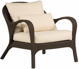 Whitecraft by Woodard Bali Wicker Lounge Chair