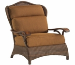 Whitecraft by Woodard Chatham Run Wicker Lounge Chair