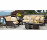 Whitecraft By Woodard Del Cristo Sofa Seating Set