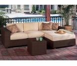 Whitecraft by Woodard Montecito Chaise Sectional Set