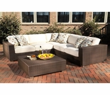 Whitecraft by Woodard Montecito Sectional Seating Set