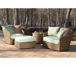 Whitecraft by Woodard Oasis Lounging Set