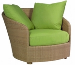 Whitecraft by Woodard Oasis Wicker Lounge Chair