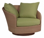 Whitecraft by Woodard Oasis Wicker Swivel Lounge Chair