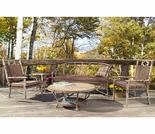 Whitecraft by Woodard River Run Bench Seating Set