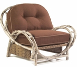 Whitecraft by Woodard River Run Wicker Butterfly Lounge Chair