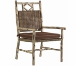 Whitecraft by Woodard River Run Wicker Dining Arm Chair